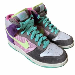 NIKE OG Dunk 6.0 2008 Pastel Sneakers High Top 8